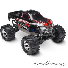 Traxxas 1/10 Stampede 4x4 Brushed 4WD Monster Truck (Model: 67054)