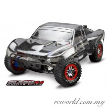 Traxxas 1/10 Slash 4X4 Platinum Edition Brushless Pro 4WD Short Course Race Truck (Model: 6804R)