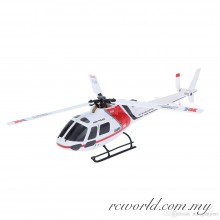 XK-K123 AS350 Scale 2.4G 6CH Brushless Motor 3D6G System RC Helicopter